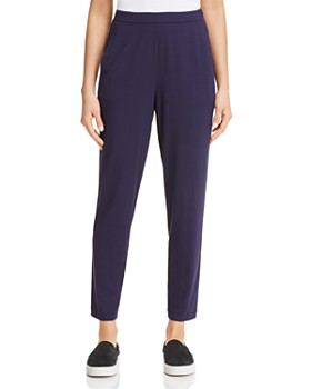 Eileen Fisher - Slim Ankle Slouchy Pants