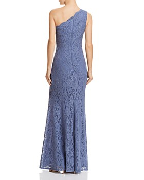 Decode 1.8 -  One-Shoulder Lace Gown