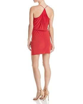 MISA Los Angeles - Domino Draped Mini Dress