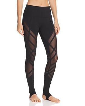 Alo Yoga - High-Waist Wrapped Stirrup Leggings