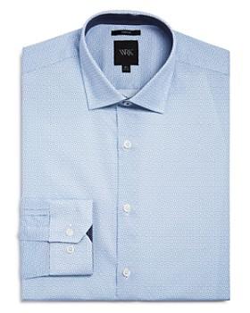 WRK - Square Dot Slim Fit Dress Shirt