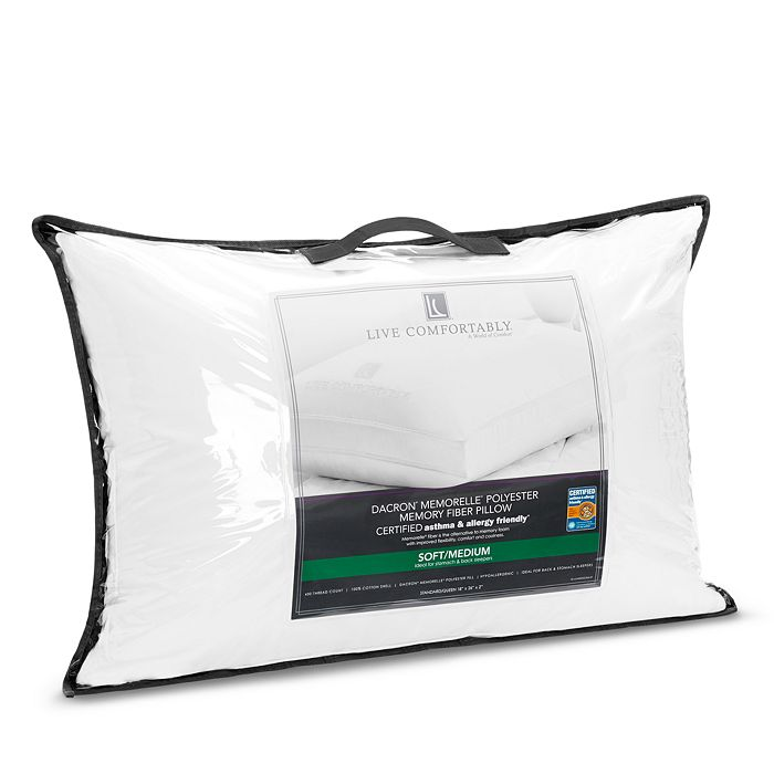 Live Comfortably - Asthma & Allergy Friendly Soft/Medium Memorelle Pillow