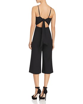 FORE - Tie-Back Cropped Jumpsuit