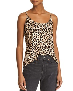 ATM Anthony Thomas Melillo - Leopard-Print Silk Top