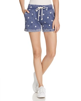 ALTERNATIVE - Star Print Shorts