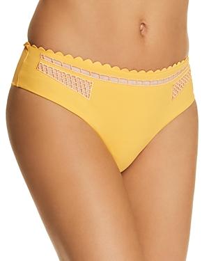 Red Carter Peek-a-Boo Bikini Bottom