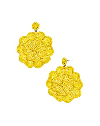 BAUBLEBAR - Mathilda Floral Drop Earrings