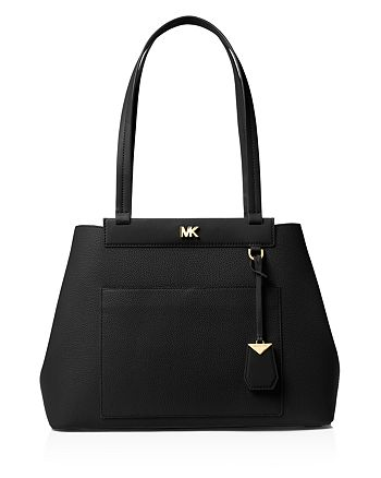 ad8f8a303ddd MICHAEL Michael Kors Meredith Medium East/West Bonded Leather Tote ...