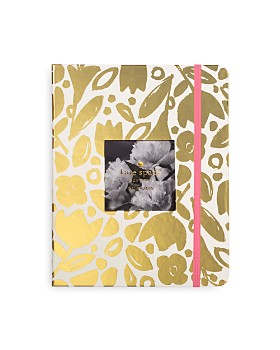 kate spade new york - Large 13-Month Agenda - Gold Floral