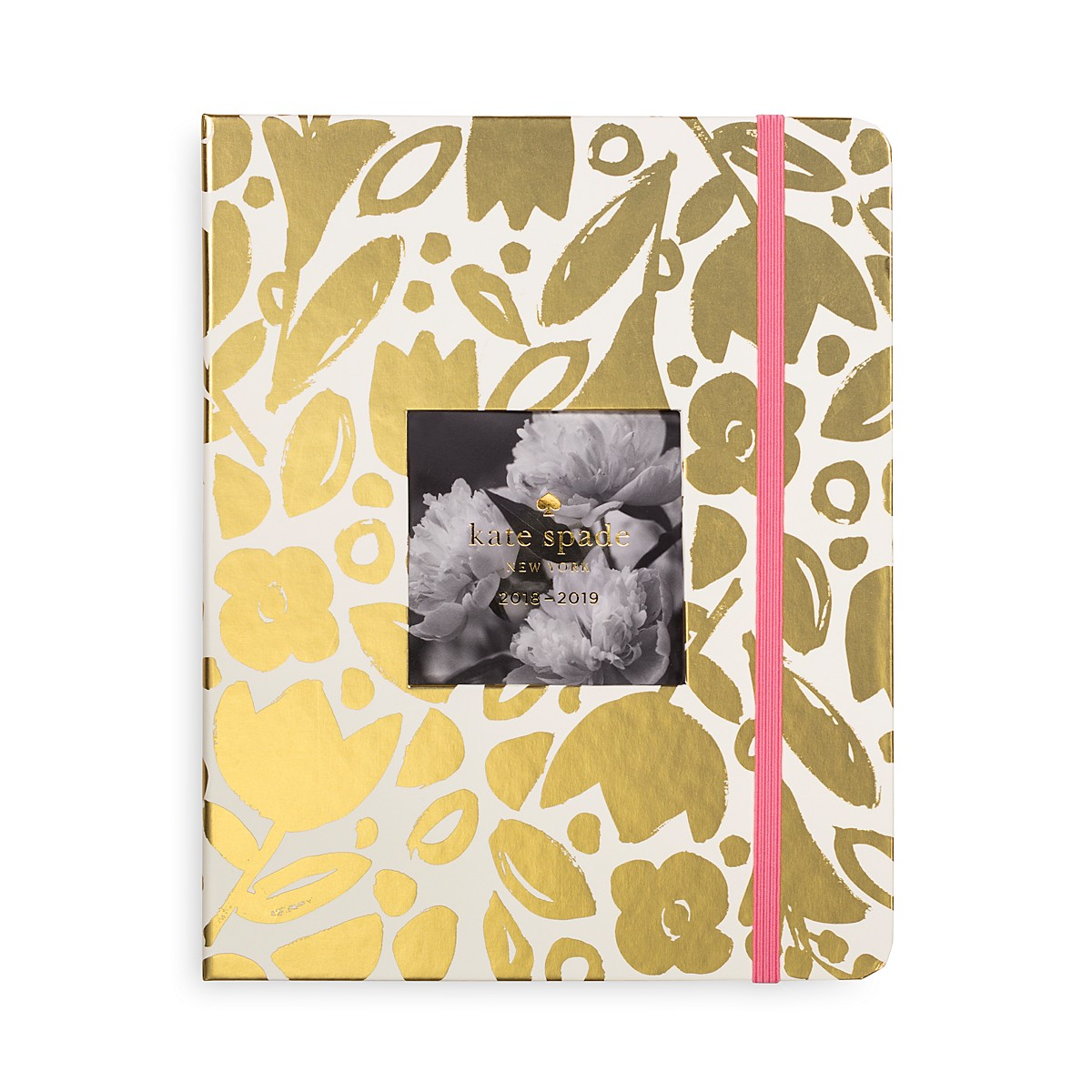 Kate Spade New York Large 13 Month Agenda Gold Floral