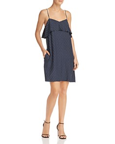 ATM Anthony Thomas Melillo - Polka-Dot Silk Dress