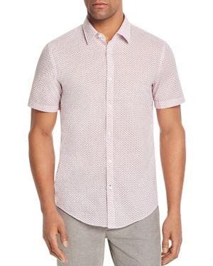 Boss Ronn Flamingo Slim Fit Button-Down Shirt
