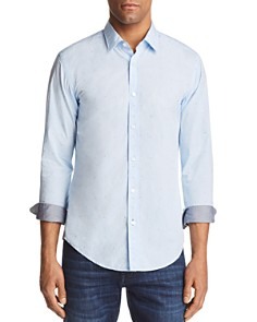 BOSS Ronni Dot Slim Fit Button-Down Shirt - Bloomingdale's_0