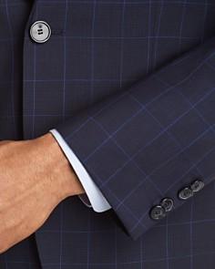 HUGO - Slim Fit Windowpane Suit Separates