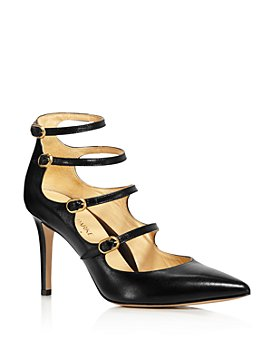 MARION PARKE - Women's Mitchell Strappy Leather Mary Jane Pumps