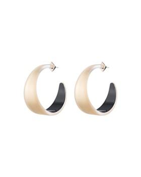 Alexis Bittar Lucite Hoop Earrings