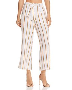 Faithfull the Brand - Como Striped Crop Pants