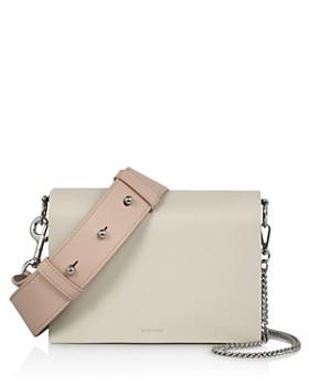ALLSAINTS - Zep Leather Shoulder Bag