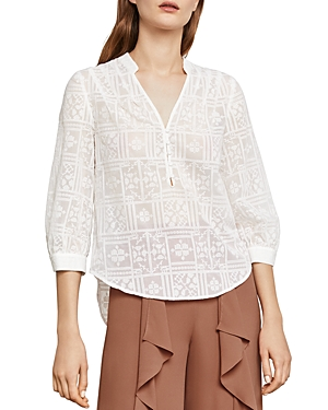 Bcbgmaxazria Kalie Embroidered Top