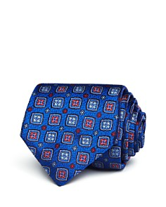 Canali Square Medallion Classic Tie - Bloomingdale's_0