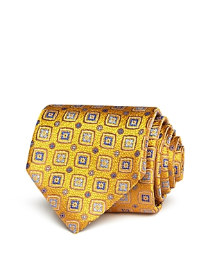 Canali Square Medallion Classic Tie