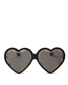 Gucci - Women's Heart Sunglasses, 60mm