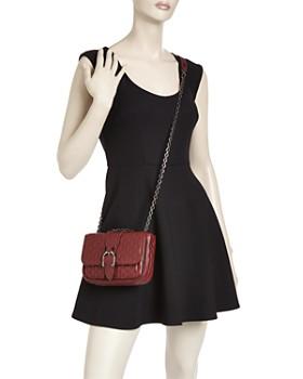 Longchamp - Amazone Matelassé Small Convertible Leather Crossbody