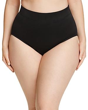 Miraclesuit Plus Solid Basic Bikini Bottom