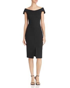 Adelyn Rae - Donna Off-the-Shoulder Sheath Dress