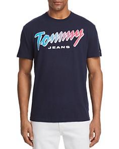 Tommy Hilfiger Summer Neon Script Logo Tee - Bloomingdale's_0