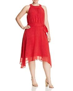 Estelle Plus - Ruby Rose Dot Dress