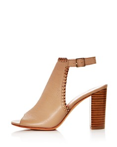 kate spade new york - Women's Orelene Leather High-Heel Booties