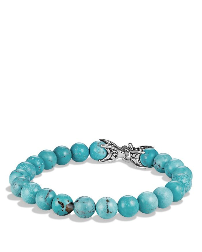 David Yurman Spiritual Beads Bracelet with Turquoise   | Bloomingdale's