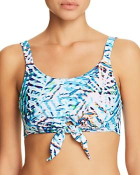 PilyQ - Knotted Crop Bikini Top