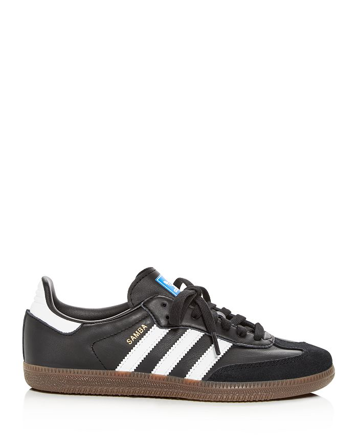 Adidas Women s Samba OG Leather   Suede Lace Up Sneakers ... 50cdc40e05