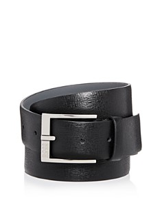 HUGO Clo 3.0 Embossed Leather Belt - Bloomingdale's_0