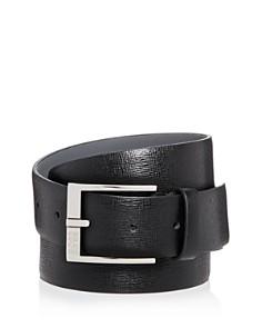 HUGO Clo 3.0 Embossed Leather Belt - Bloomingdale's_0