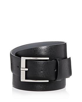 HUGO - Clo 3.0 Embossed Leather Belt
