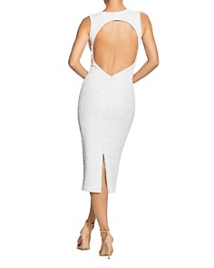 Dress the Population - Rani Open-Back Sequined Midi Dress