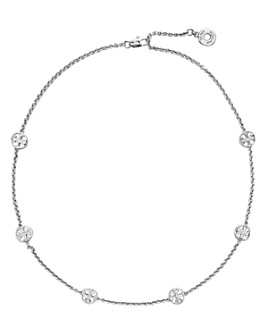 """Tory Burch - Delicate Logo Necklace, 18"""""""