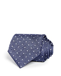 The Men's Store at Bloomingdale's Heathered Dot Classic Tie - 100% Exclusive_0