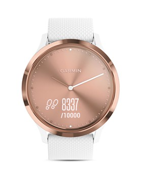 Garmin - vivomove HR Sport Hybrid Smartwatch, 43mm