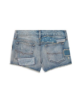 Ralph Lauren - Girls' Patchwork Denim Shorts - Little Kid
