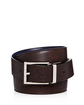 Bally - Men's Astor Embossed Leather Belt