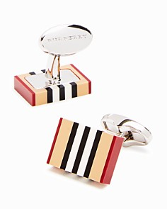 Burberry Vintage Stripe Cufflinks - Bloomingdale's_0