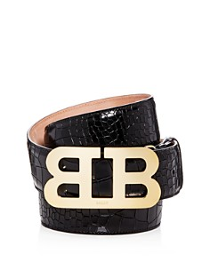 Bally Croc Embossed Leather Belt - Bloomingdale's_0