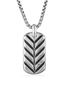 David Yurman - Exotic Stone Tag in Pietersite