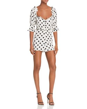 LEXINGTON POLKA-DOT ROMPER