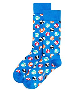 Happy Socks Beach Ball-Pattern Socks - Bloomingdale's_0