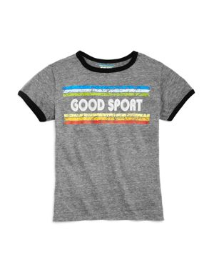 So Nikki. Girls' Good Sport Ringer Tee - Big Kid